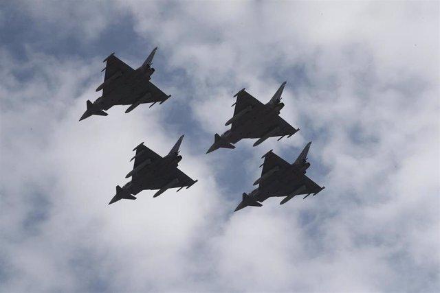 Archivo - Avions eurofighter
