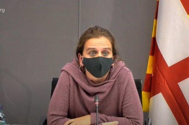 Archivo - Arxiu - La regidora de Salut de l'Ajuntament de Barcelona, Gemma Tarafa