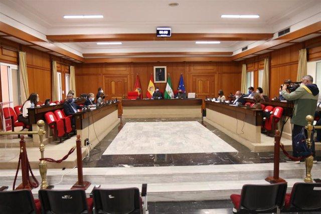 Archivo - Pleno del Ayuntamiento de Córdoba.