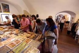 Imagen de archivo de la 29ª edición de la Feria del Libro de Cádiz.