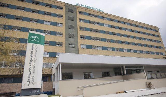 Hospital Virgen Nieves Granada en una imagen de archivo