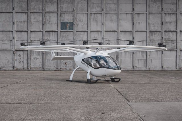 Volocopter's VoloCity electric air taxi aircraft Volocopter
