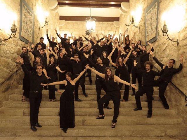 Foto de archivo del Joven Coro de Andalucía en julio de 2019