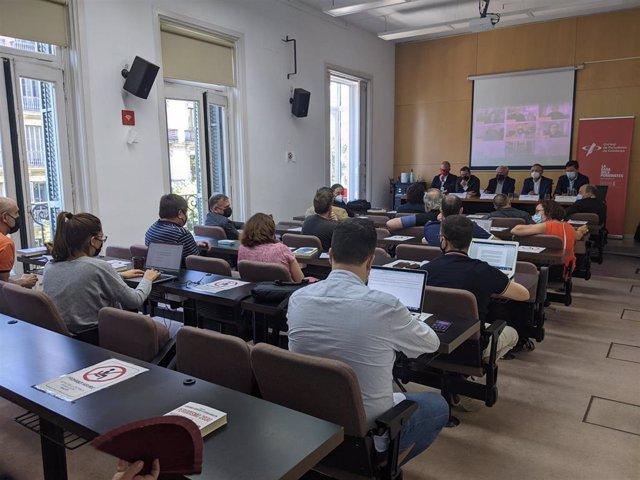 Presentación del libro 'Periodismo 2030' en el Col·legi de Periodistes (Barcelona) este jueves