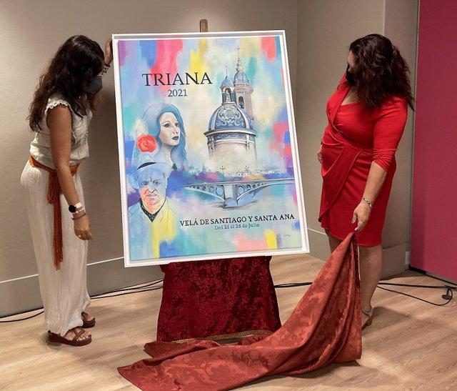 Presentación del cartel de la Velá de Triana.