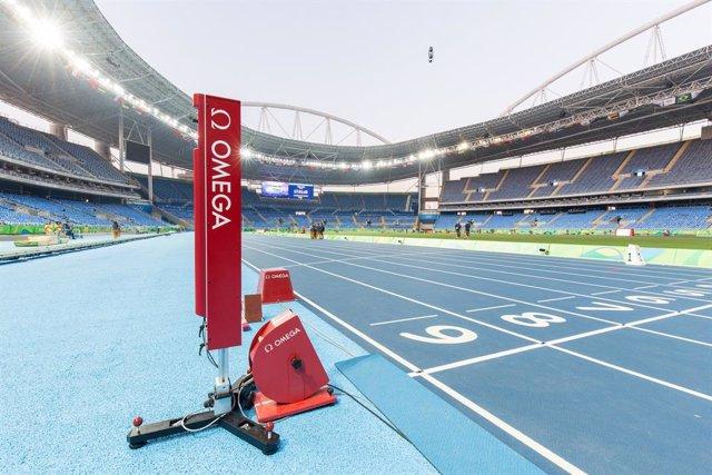 Archivo - Omega estrena tecnología en el cronometraje de los Juegos de Tokyo 2020.
