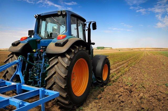 Archivo - Arxiu - Imatge de recurs d'un tractor