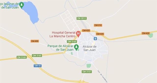 Imagen de Alcázar de San Juan en Google Maps