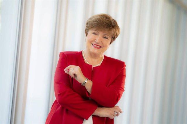 Archivo - Kristalina Georgieva, directora gerente del FMI