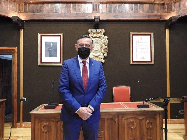 Antonio Pardo, tras el pleno.