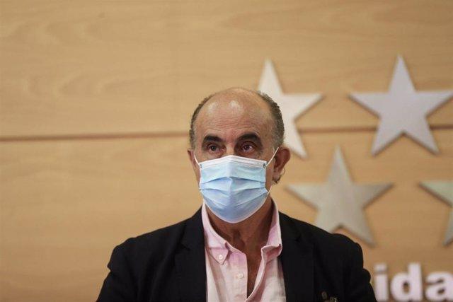 El viceconsejero de Salud Pública y Plan COVID-19 de la Comunidad de Madrid, Antonio Zapatero, en una imagen de archivo