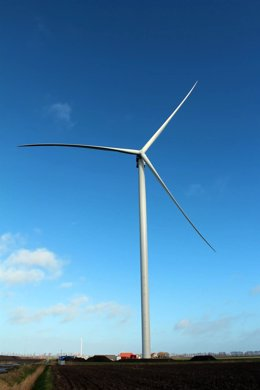 Archivo - Turbina Cypress de GE para parque eólico de Capital Energy en Andalucía