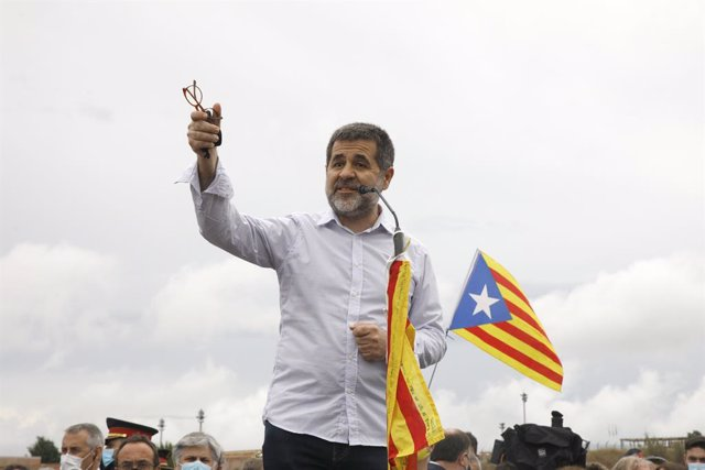 Arxiu - El secretari general de Junts, Jordi Sànchez, a la presó de LLedoners