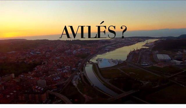 Captura del video promocional de Avilés.