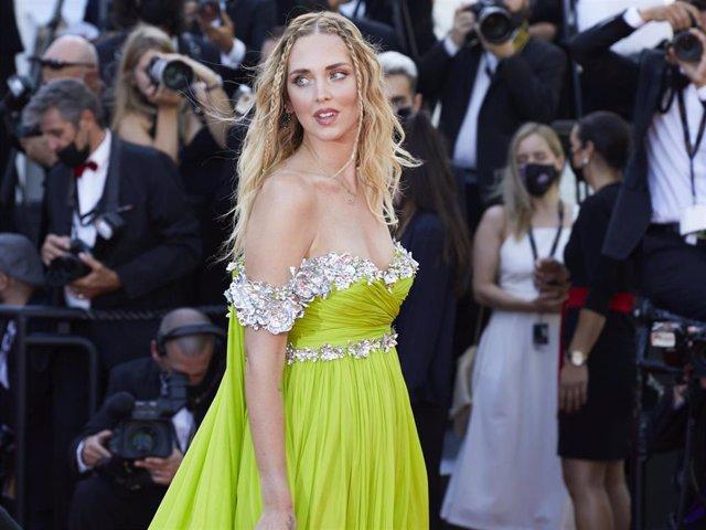 Chiara Ferragni, en Cannes de la mano de Nespresso con un vestido tan espectacular como especial