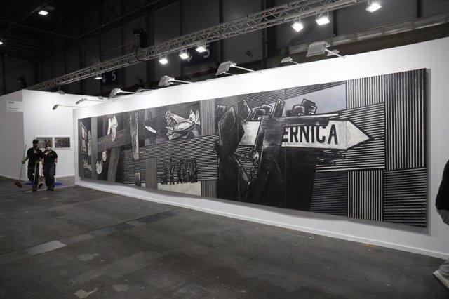 El 'Guernica' de Ibarrola en ARCO