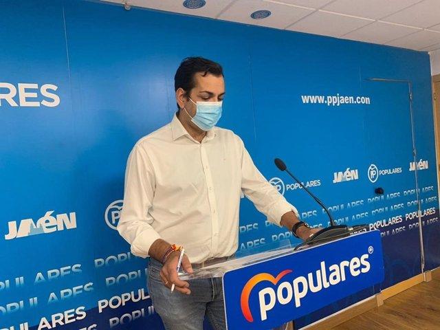 El diputado por el PP de Jaén Juan Diego Requena.
