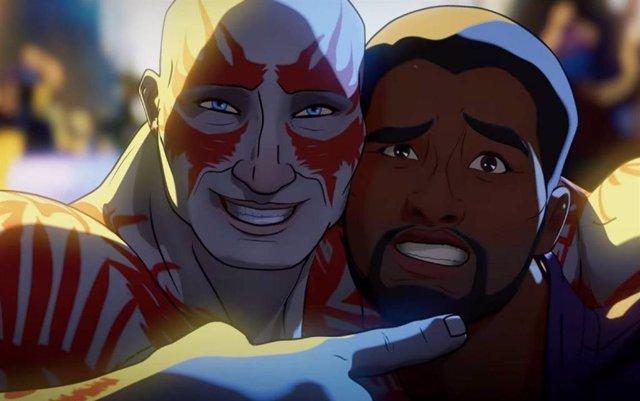 La versión animada de Chadwick Boseman en ¿Qué pasaría si?