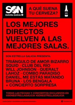 Cartel promocionaol SON Estrella Galicia