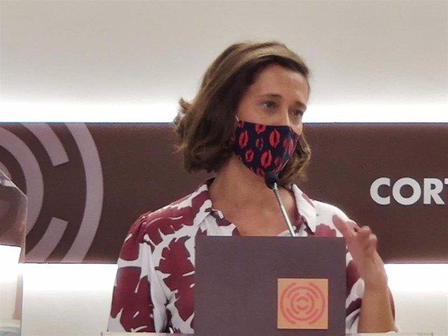 La portavoz de Ciudadanía del Partido Popular en las Cortes de Aragón, Marian Orós.