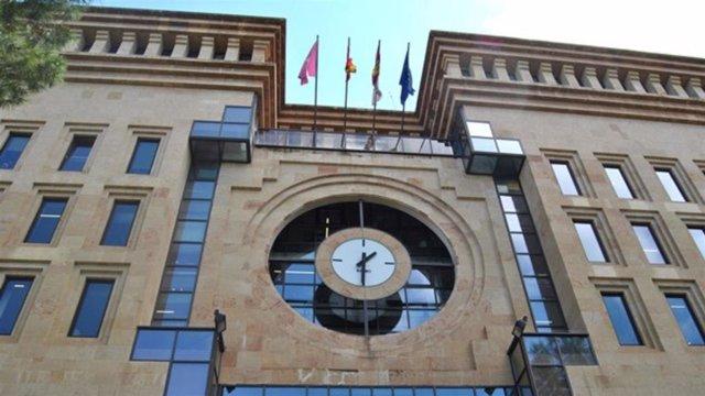 Fachada del Ayuntamiento de Albacete