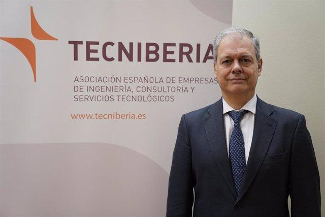 Archivo - Pablo Bueno, presidente de la patronal Tecniberia.