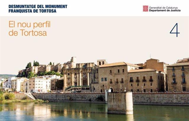 Projecte de la Conselleria de Justícia de la Generalitat per retirar el monument a la batalla de l'Ebre a Tortosa