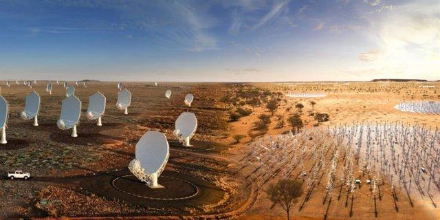 """Arranca la construcción del Square Kilometer Array (SKA), """"el mayor radiotelescopio del mundo"""""""