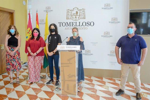 La alcaldesa de Tomellooso, Inmaculada Jiménez,