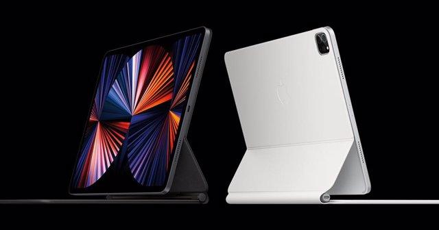 Archivo - Modelos de iPad Pro de 11 y 12,9 pulgadas actualmente en venta