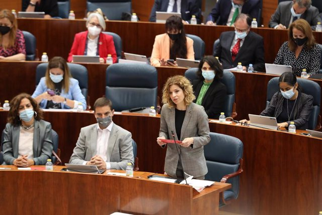 La portavoz del PSOE, Hana Jalloul.
