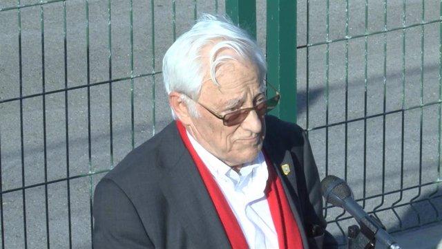 Archivo - Padre Ángel, fundador de Mensajeros por la Paz, en una imagen de archivo
