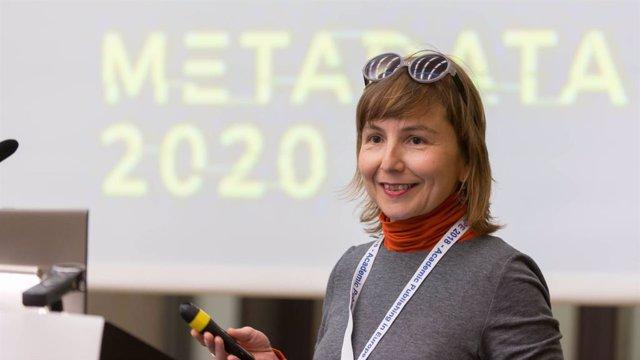 Foto de archivo de la vicerrectora adjunta de Política Científica y Open Science, Eva Méndez