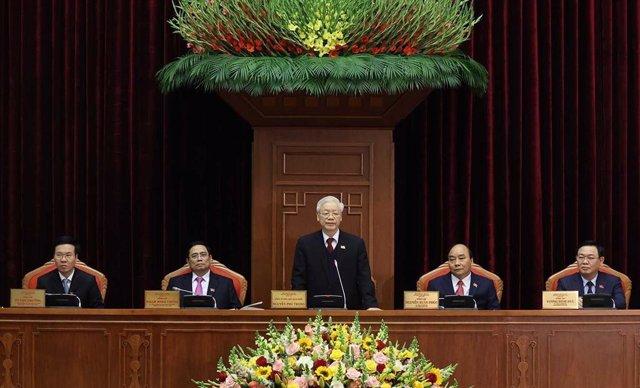 Archivo - El secretari general del Partit Comunista del Vietnam i president del país, Nguyen Phu Trong