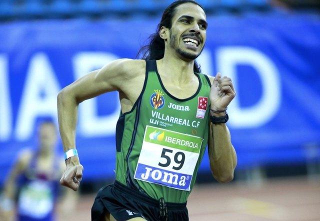 El atleta español Mohamed Katir