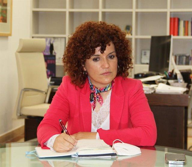 María Eugenia Limón, presidenta de la Diputación.