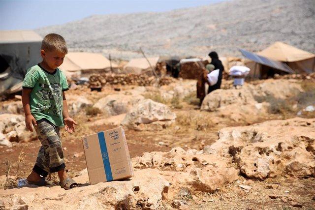 Ayuda humanitaria en Siria
