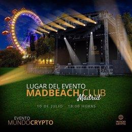 El mayor evento español sobre criptomonedas y educación financiera digital se celebra hoy en Mad Beach