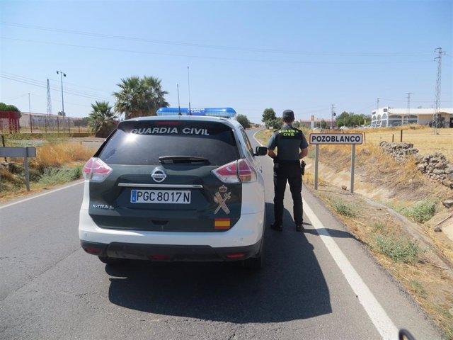 Archivo - Córdoba.- Sucesos.- Dos detenidos en Pozoblanco por un intento de agresión con arma blanca