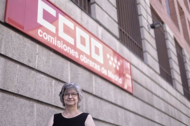 Paloma López, secretaria general de CCOO Madrid