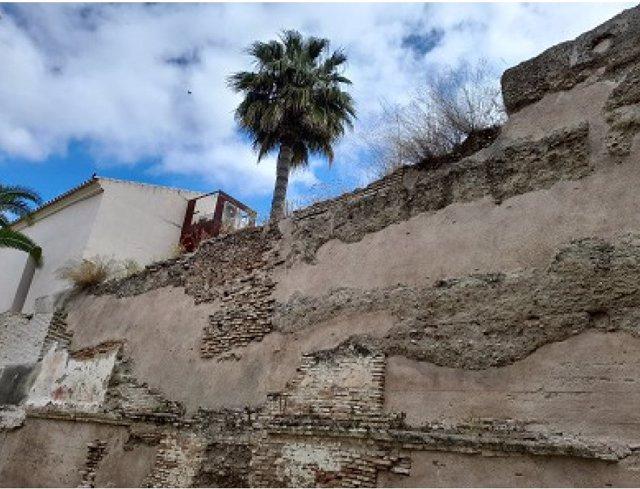 Lienzo del recinto amurallado de Palma del Río