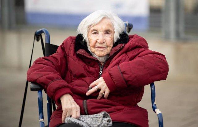 Archivo - La superviviente del Holocausto, Esther Bejarano