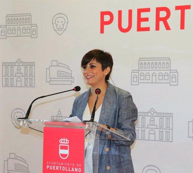 Archivo - La alcaldesa de Puertollano (Ciudad Real), Isabel Rodríguez.