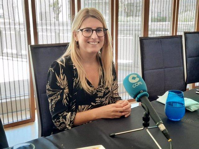 La presidenta de Junts a l'Ajuntament de Barcelona, Elsa Artadi