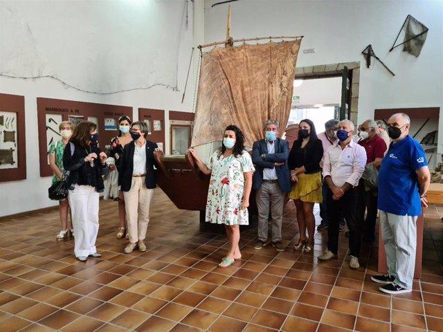 Presentación del XV Encontro de embarcacións tradicionais