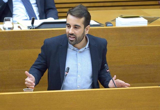 Archivo - El portavoz socialista de Hacienda en Les Corts Valencianes, José Muñoz