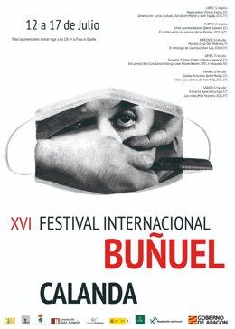El Festival Internacional Buñuel Calanda ha presentado la programación para su XVI edición, entre el 12 y el 17 de julio