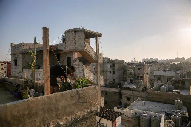 Refugiados palestinos en Líbano