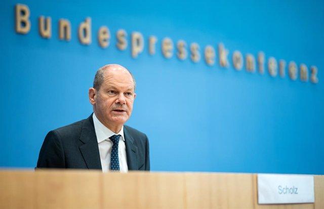 El ministro alemán de Finanzas, Olaf Scholz