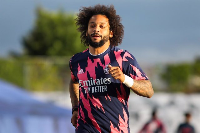 Archivo - Marcelo Vieira of Real Madrid warming up during La Liga football match played between Real Madrid CF and Sevilla FC at Alfredo di Stefano stadium on May 09, 2021 in Madrid, Spain.